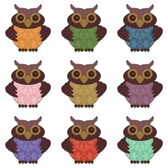 collection of nice owls