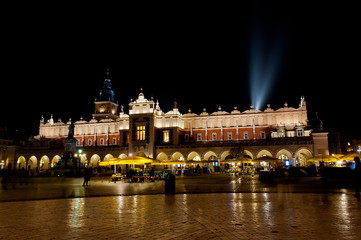 evening in Cracow