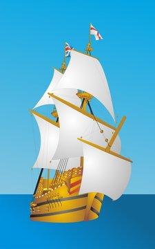 """Galleon """"Mayflower"""""""