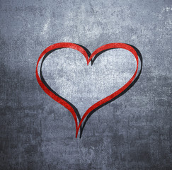 cuore grunge