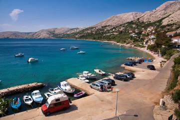 Seaside at Stara Baska in Krk - Croatia