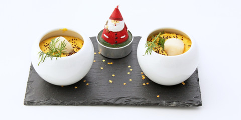 Duo et père Noël