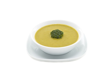 Fresh Cream of Broccoli soup