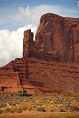 Wall Mural - Monument Valley Scenery
