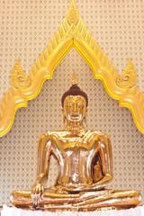 golden Buddha at wat trimit in Thailand