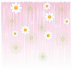 flower cards pink