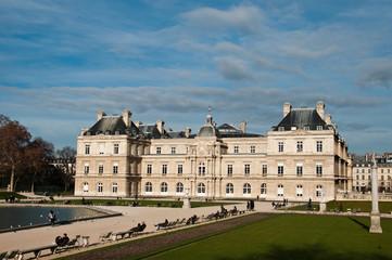 Sénat jardin du Luxembourg