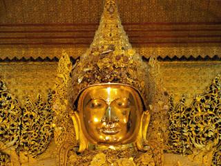 Mahamuni Buddha, Mandalay, Burma (Myanmar)
