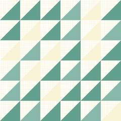 trójkąty w rzędach geometryczny deseń na jasnym tle