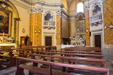 Suffragio church. Tarquinia. Lazio. Italy.
