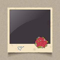 polaroid photo frame