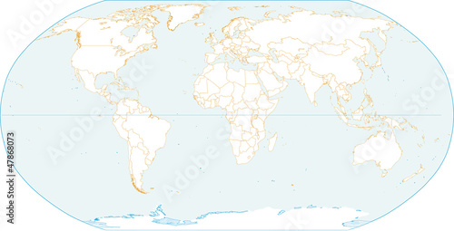 Blank World Map Stock Image And Royaltyfree Vector Files On - Blank world map vector