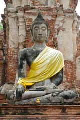 Buddha image in Ayuthaya