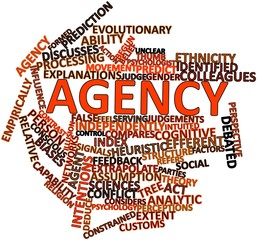 Word cloud for Agency