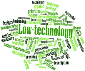 Word cloud for Low-technology