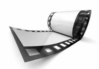 Kleine Filmrolle - Weiß Schwarz