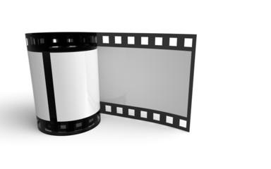 Kleine Filmrolle - Weiß Schwarz 2