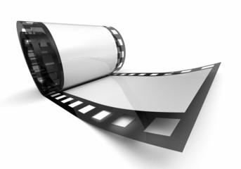 Kleine Filmrolle - Weiß Schwarz 3