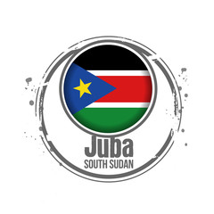 timbre Soudan du sud