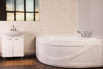 Bathroom Interior in luxury home