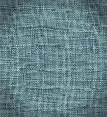 Blue fabric texture detail (high. res. scan)