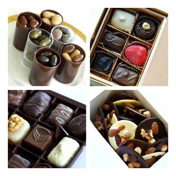 Chocolat, cacao, ballotin, friandise, confiserie, sucre