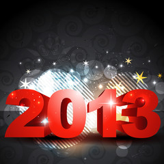 shiny new year design