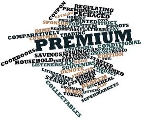 Word cloud for Premium