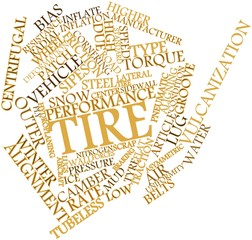Word cloud for Tire