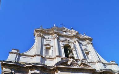 The St Irene church in Lecce in Italy