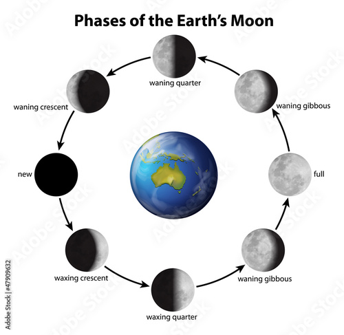 Moongiant - Current moon phases & moon position