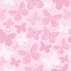 Butterfly seamless pattern