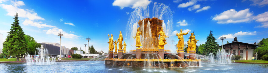 Printed kitchen splashbacks Moscow Fountain of Friendship of Peoples. Moscow,ENEA.
