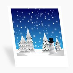 Winter Polaroid