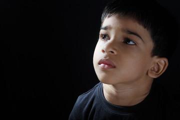 Depressed Indian Boy