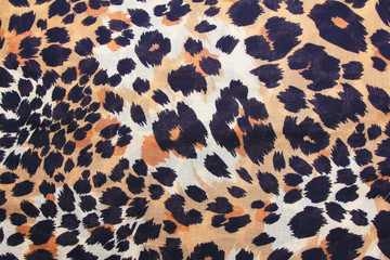 background of leopard skin pattern