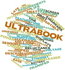 Word cloud for Ultrabook