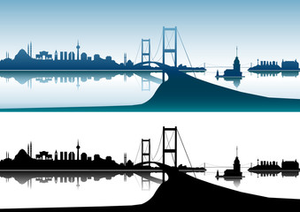 Sembol karakterleriyle  İstanbul