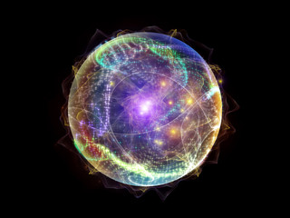 Fractal Sphere Composition