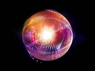 Virtual Fractal Sphere