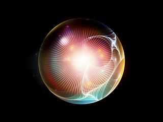 Fractal Sphere Background
