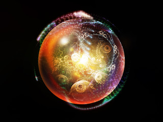 Elegance of Fractal Sphere