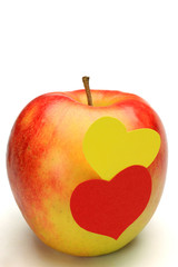 apple and heart
