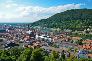 Heidelberg, veduta panoramica 4