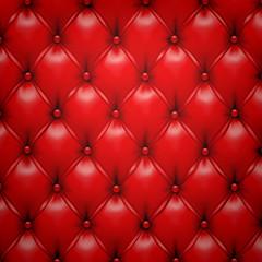 Keuken foto achterwand Leder Red vector upholstery leather pattern background.