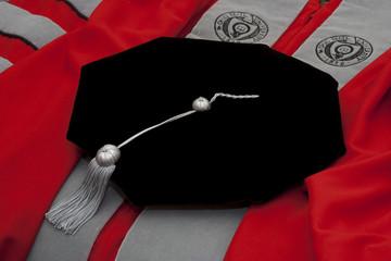 Academic regalia - PhD gown and tam