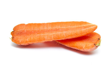 Two Carrot Halves