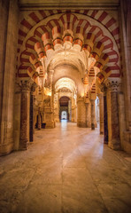 Mosque-Cathedral of Cordoba, Spain.