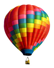 Deurstickers Ballon hot air balloon isolated