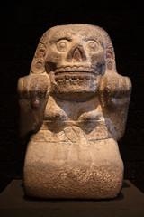 Statue of Cihuateotl. Aztec. Mexico.